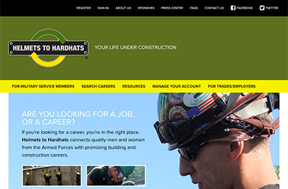 Visit Helmets To Hardhats.org